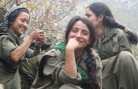 PKK-fighters